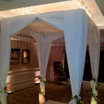Crystal Drop Chuppah