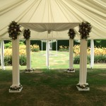 Pleated Chuppah