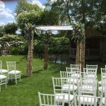 Triple Birch Tree Chuppah