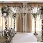 Single Birch Tree Chuppah